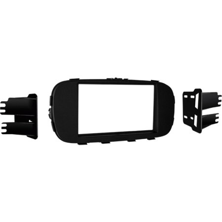 Metra 95 7360B 2014 And Up Kia Soul Iso Double Din Installation Kit  Matte Black