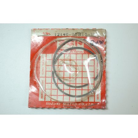 Suzuki 12140-02B10-100 Piston Ring Set OS 1.0 1986-1995 RM80 RM80S 12140-02B10-100 QTY 1