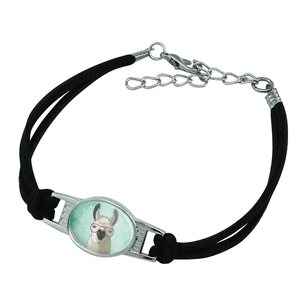 GRAPHICS /& MORE Gray Domestic Shorthair Kitten Cat Fur Silver Plated Bracelet with Antiqued Charm