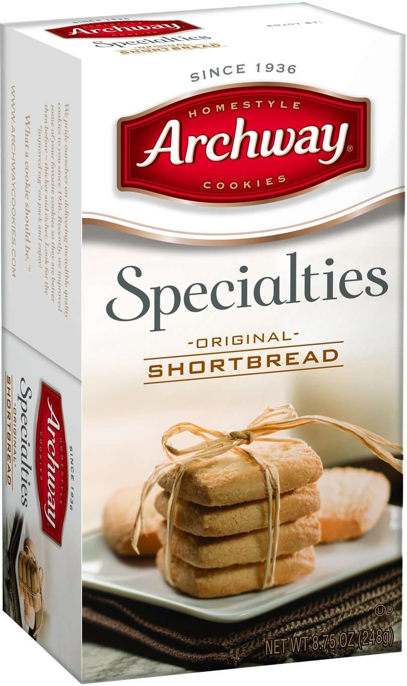 Archway Specialities Cookies, Shortbread, 8.75 Oz by Snyder's-Lance