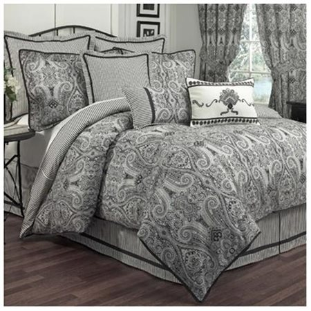 Waverly Paisley Pizzazz Reversible Bedding Comforter Set