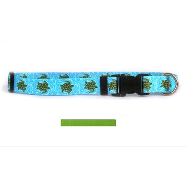 Yellow Dog Design SGR101S Solid Spring Green Standard Collar - Small