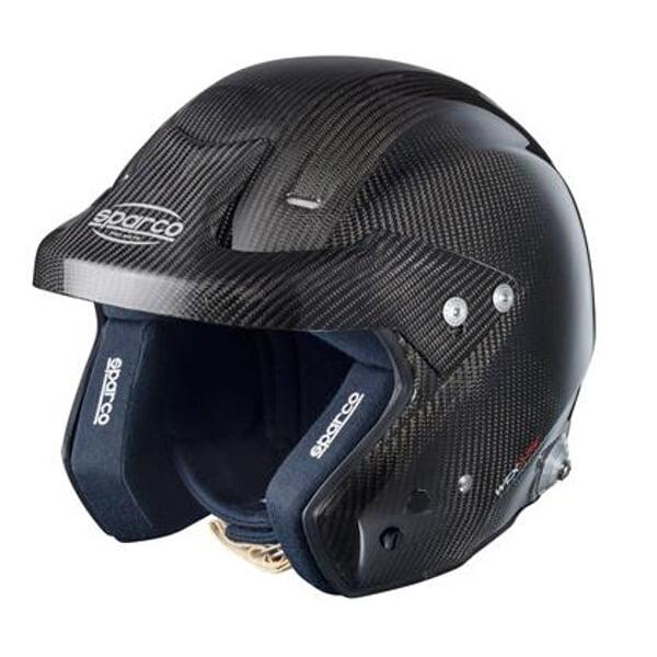 SPARCO 003325Z3L WTX J-7 Air Helmet Carbon Fiber Large Fi...
