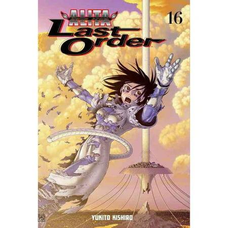 Battle Angel Alita: Last Order 16 by