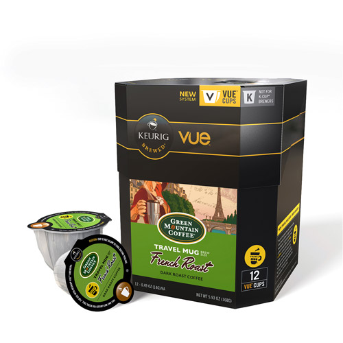 French Roast Travel Mug Vue Pack Coffee GMT9307