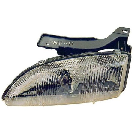 Go-Parts » 1995 - 1999 Chevrolet Cavalier Front Headlight Headlamp Assembly Front Housing / Lens / Cover - Right (Passenger) Side 16523442 GM2503130 Replacement For Chevrolet Cavalier