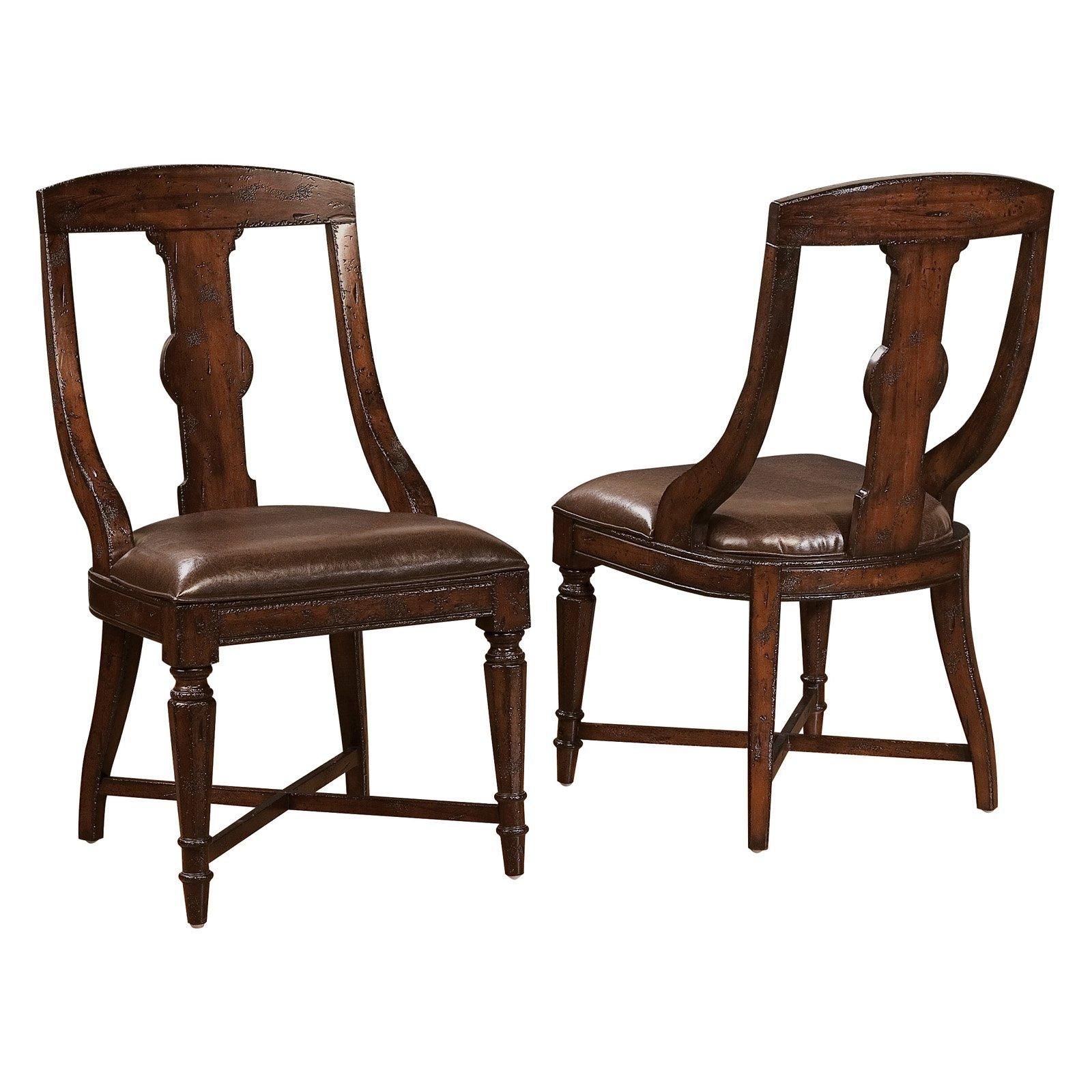 Hekman Havana Splat Back Dining Side Chair
