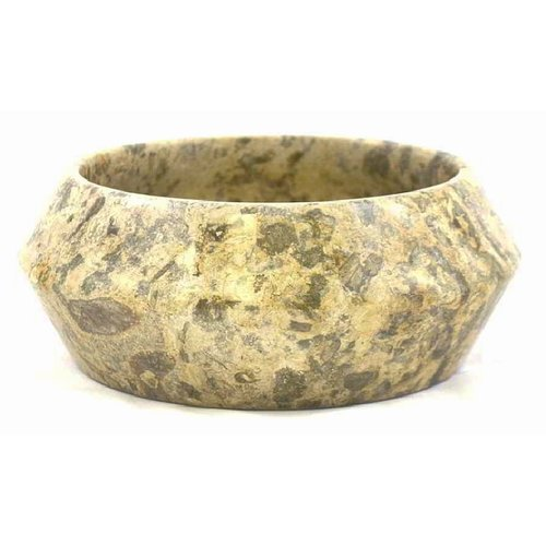 Nature Home Decor Fossil Stone Fruit Bowl
