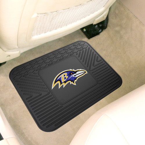 Baltimore Ravens Official NFL  Heavy Duty Rear Seat Single Car Mat by Fanmats