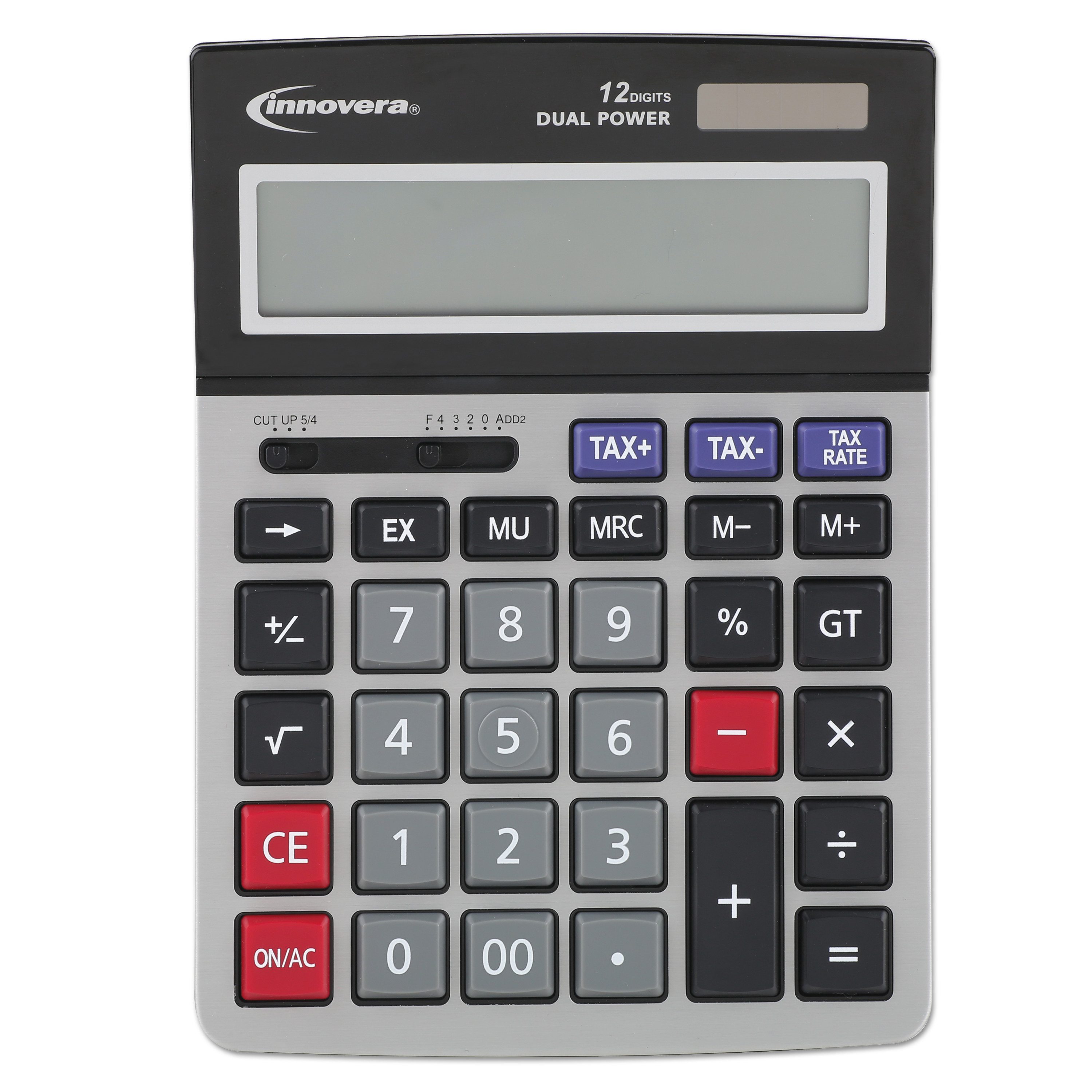 Innovera 15975 Large Digit Commercial Calculator, 12-Digit LCD