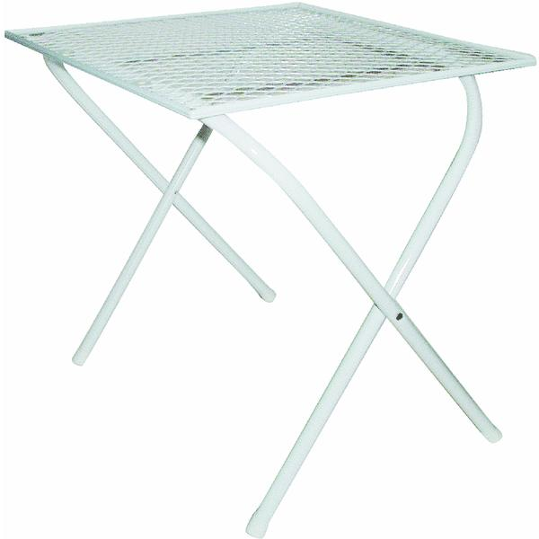Steel Mesh Folding Patio Table