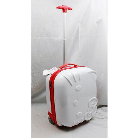 Hello Kitty ABS Rolling Luggage (White) #82337