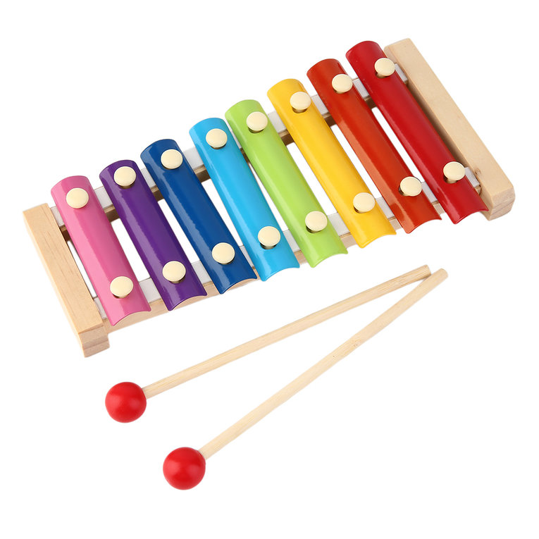 Hand Knock Wood Piano Kids Toy Xylophone Music Rhythm Learnin In Advance by