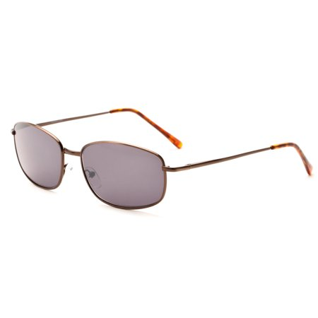 c35628f4f843 Readers.com The Randy Sun Reader Flash-Mirrored Reading Sunglasses with  Metal Frame Rectangle Reading Glasses - Walmart.com