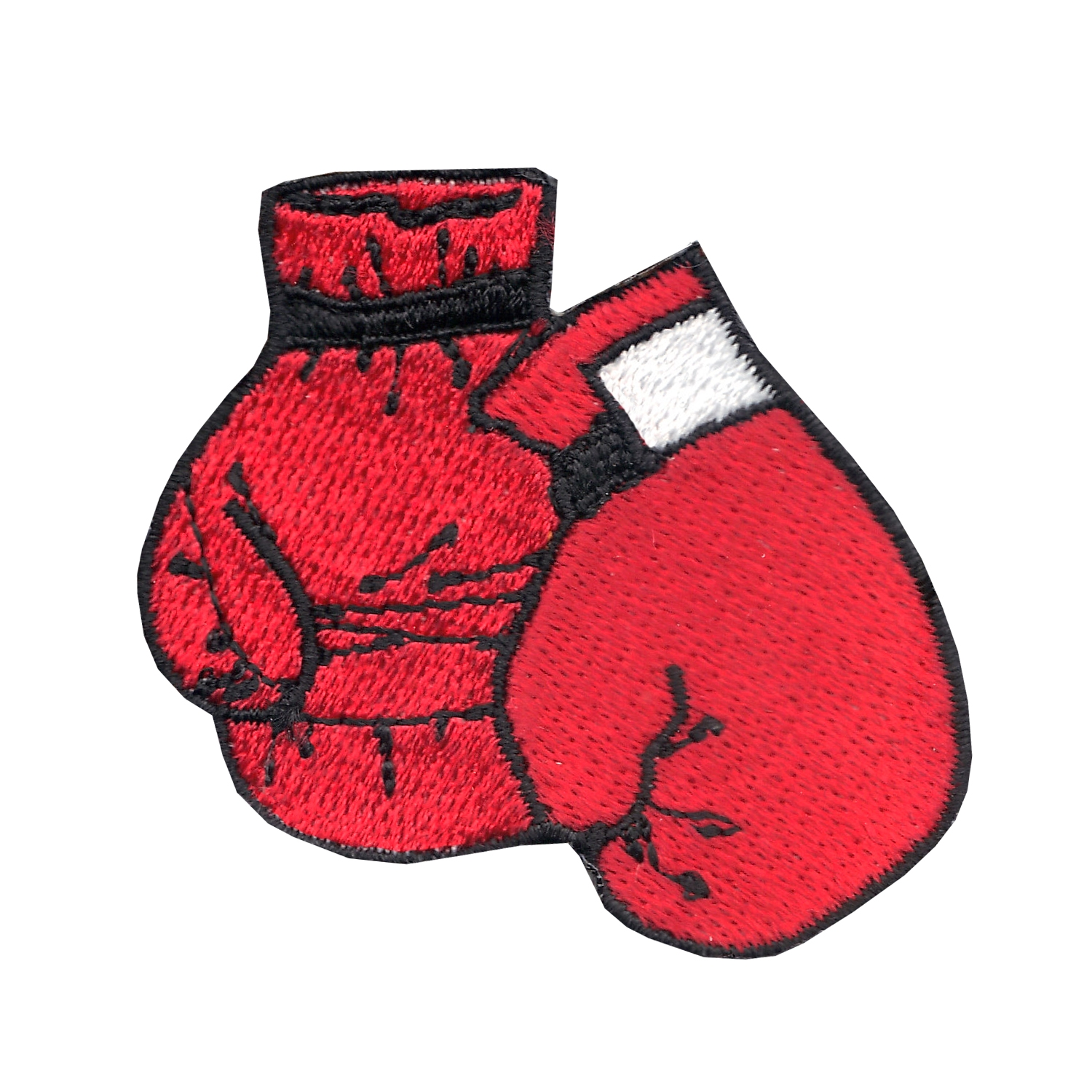 Boxing Gloves Iron On Applique Patch