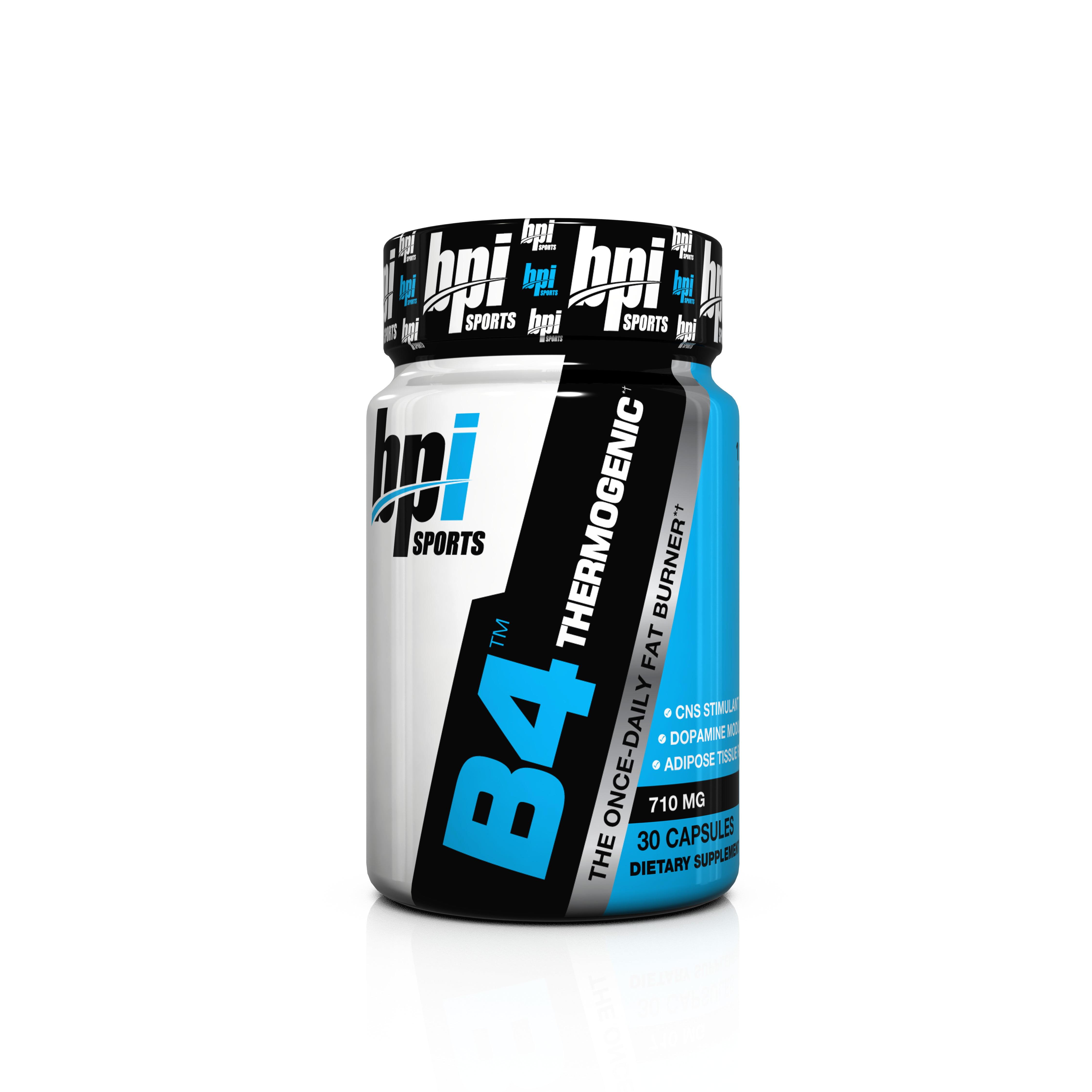 BPI Sports B4 Fat Burner Weight Loss Ctules, Flavorless, 30 Ct
