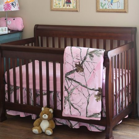 Realtree Bedding Realtree AP 3 Piece Crib Bedding Set (Real Tree Bedroom Set)