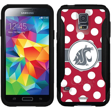 Washington State Polka Dots Design on OtterBox Commuter Series Case for Samsung Galaxy (Washington State Cell Phone)