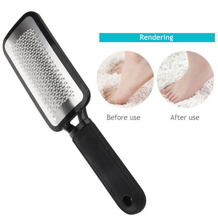 GLiving  Pedicure Colossal Foot Rasp Foot File And Callus Remover, Best Foot Care  Metal Surface Tool To Remove Hard Skin, Can Be Used On Both Wet And Dry Feet, Surgical Grade Stainless Steel