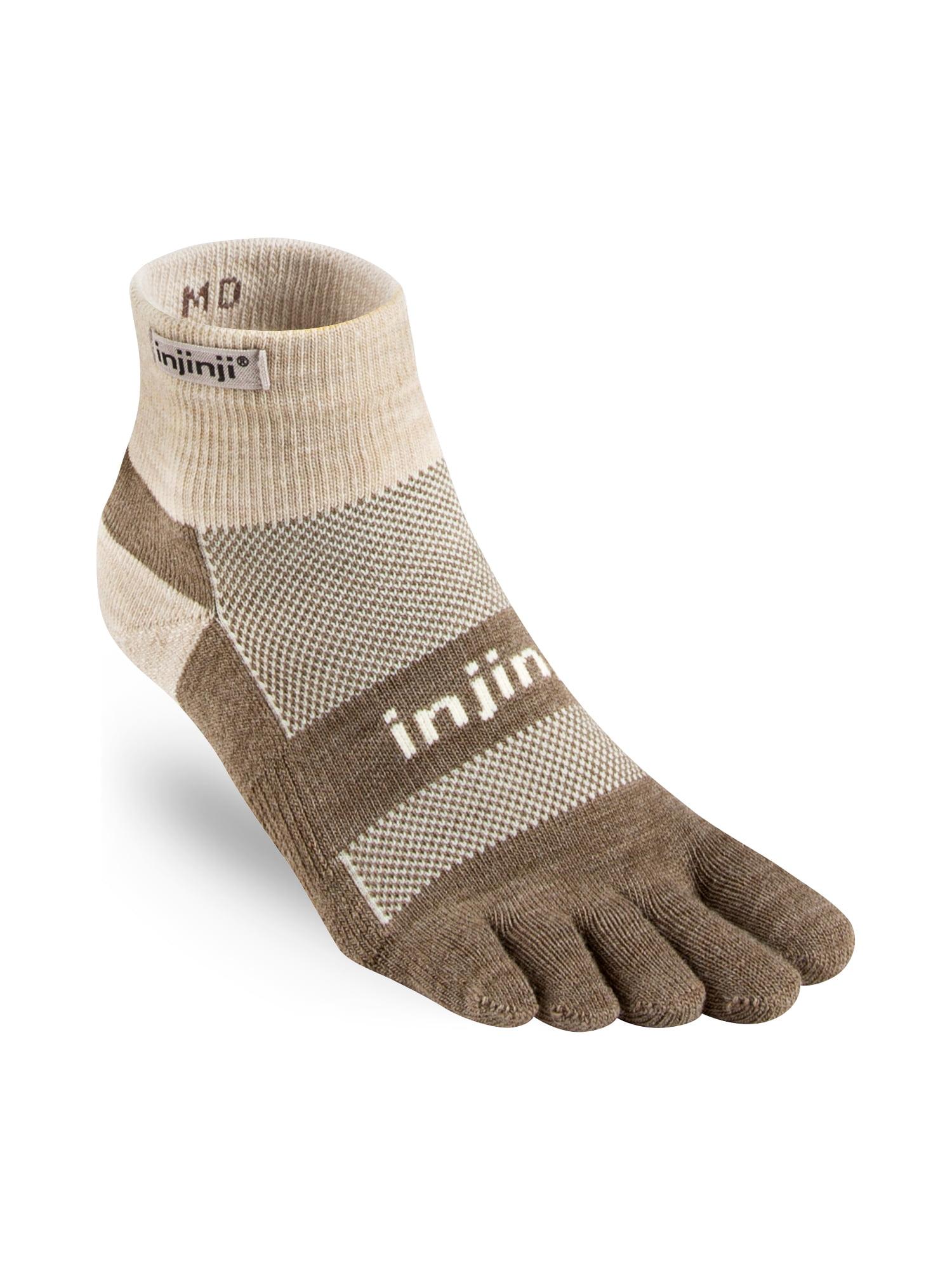 Outdoor Midweight Mini-Crew Wool Socks (Oatmeal, X-Large)