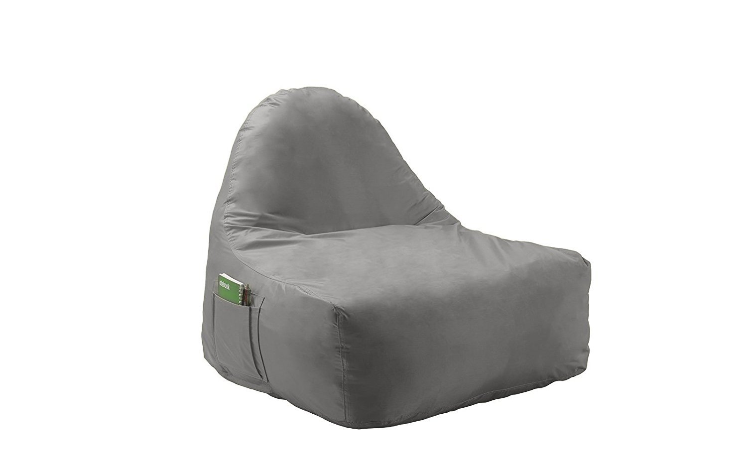 New 31  inch Lazy Lounge Compressed Foam Waterproof Gaming Chair Bean Bag with Pockets for Kids (Grey) - Walmart.com  sc 1 st  Walmart & New 31