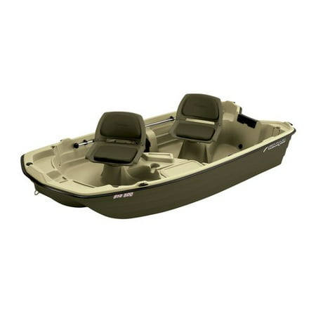 Sun dolphin 2 man pro 102 fishing boat for Two man fishing boat