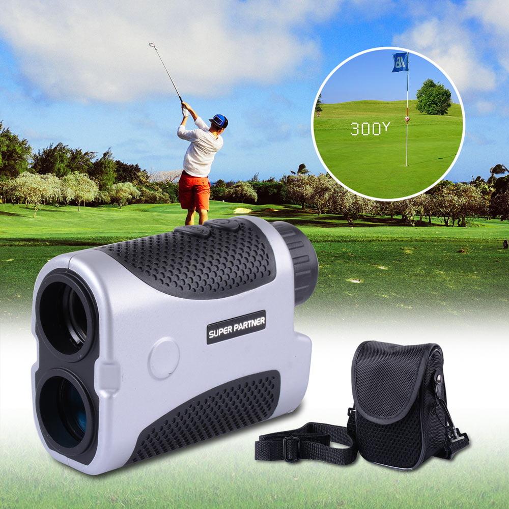 Golf Range Finder 437yd 6x Magnification 4 Modes Laser Range Angle Finder Monocular Outdoor White/Silver Opt