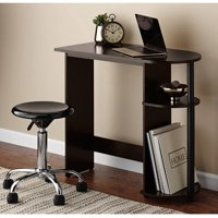 Mainstays Computer Desk with Side Storage (Espresso)