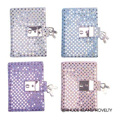 Teen Girl's Locking Secret Diary Journal with Sequins - image 1 of 1