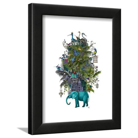(The Birdcage Framed Print Wall Art By Fab Funky)