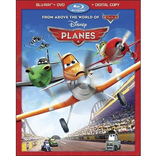Planes (Blu-ray + DVD + Digital Copy) (Widescreen)