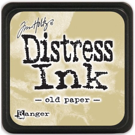 Distress Mini Ink Pad-Old Paper Ink Pad Old Rose