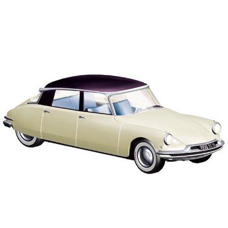 1956 Citroen DS19 Champagne and Aubergine Salon de Paris Octobre 1955 1/18 Diecast Model Car  by -