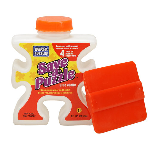 Mega Brands 8oz Save-A-Puzzle Glue with Applicator – Walmart