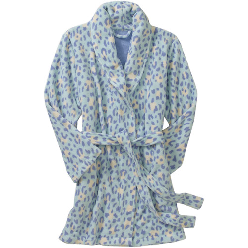 Df By Dearfoams Women's Cozy Fleece Robe