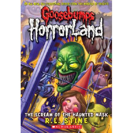 G.B. HORRLAND 4: SCREAM++HAUNTED MASK - Goosebumps 2000 Headless Halloween