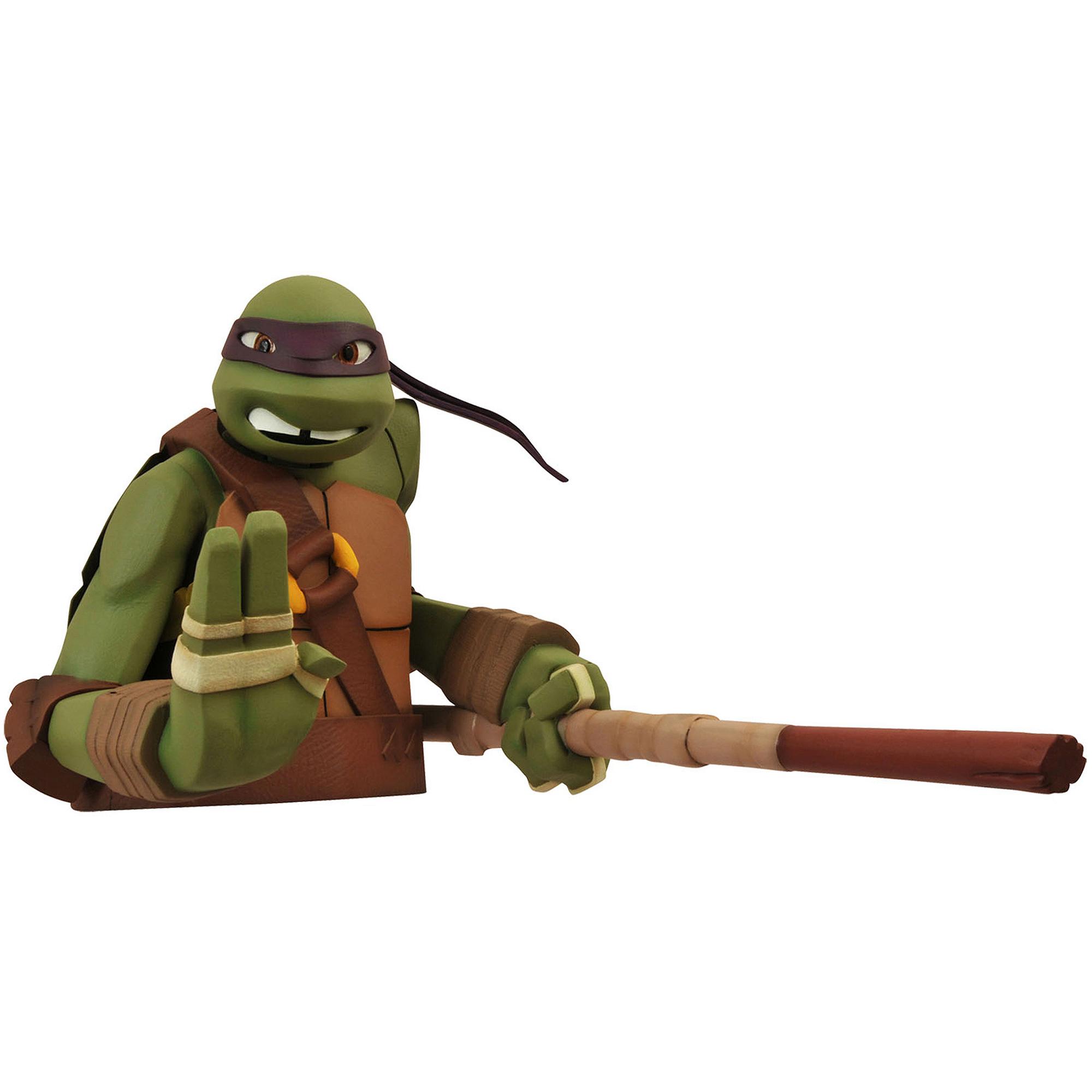 Diamond Select Toys Teenage Mutant Ninja Turtles Donatello Bust Bank