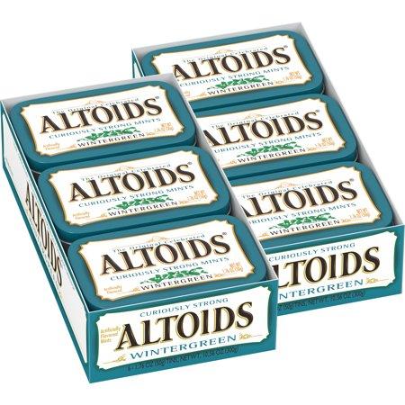(Altoids Breath Mints, Classic Wintergreen, 1.76 Oz Tin)