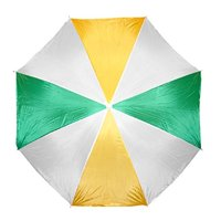 "Beach Umbrella 72"" Wide and 72"" High (Yellow/Green/White)"