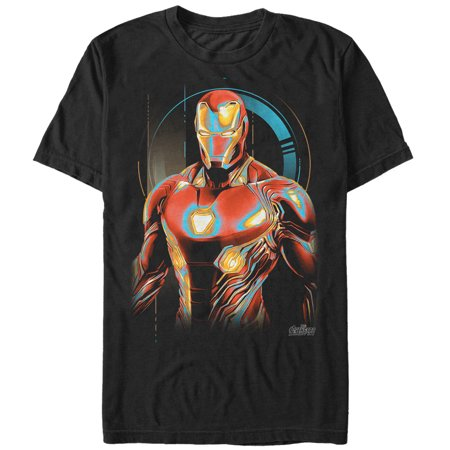 Marvel Men's Avengers: Infinity War Iron Man Future T-Shirt (Awesome Iron Man Suits)