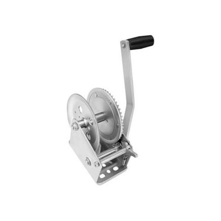 Cequent 142300 Single Speed Winch - 5.1:1 Gear Ratio,