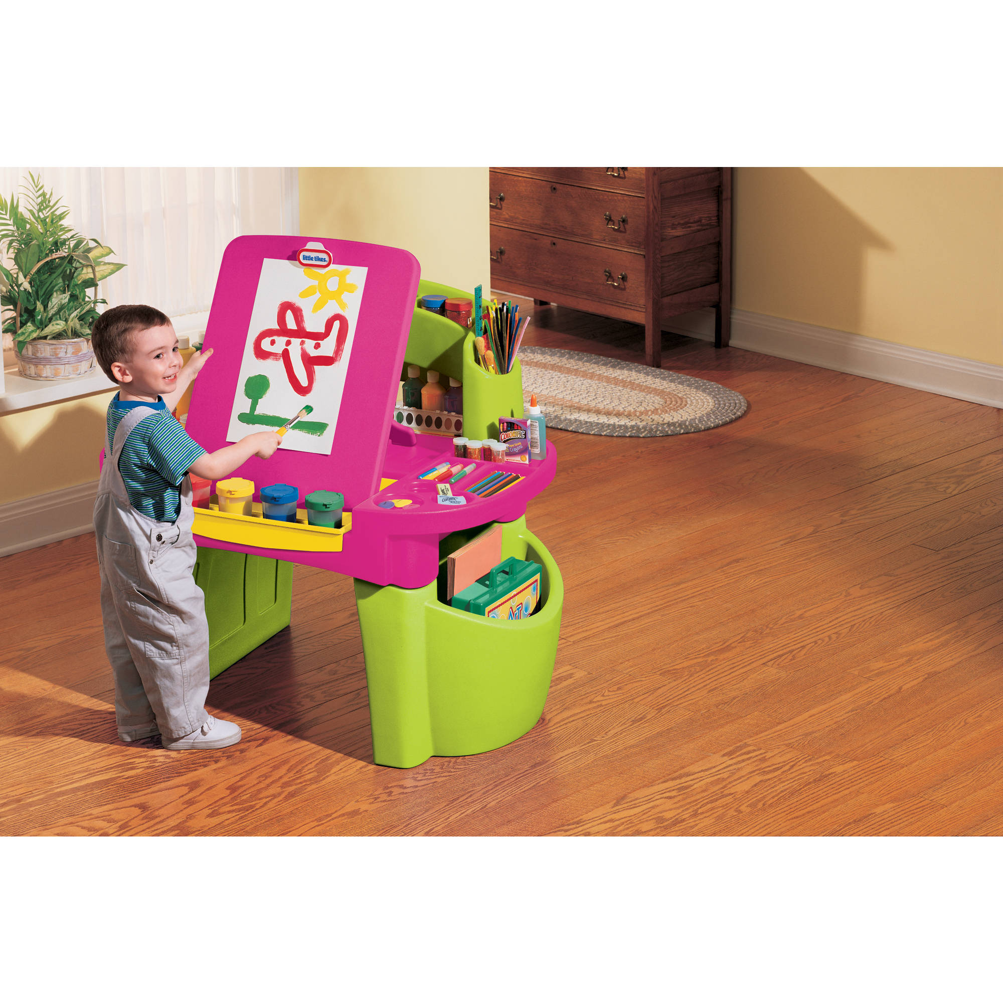 Little Tikes Pink Design Master Studio Desk Walmart Com