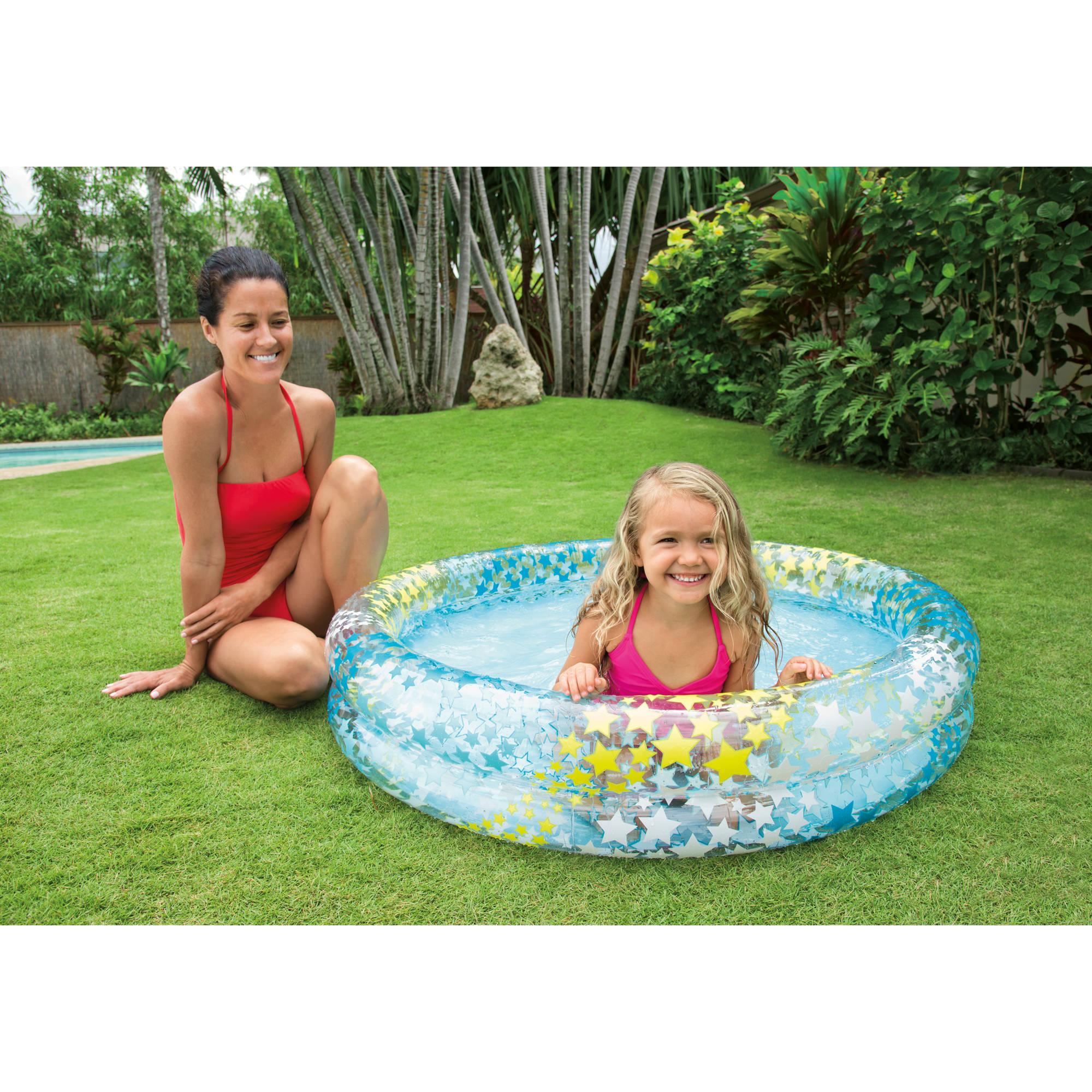 "Intex Inflatable Stargaze Kids Pool, 48"" x 10"