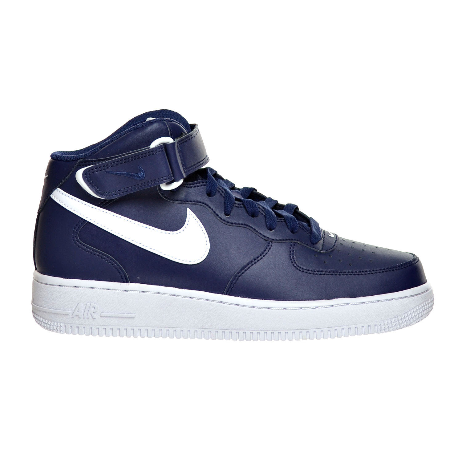 Nike Air Force 1 Mid '07 Men's Shoes Midnight Navy White 315123-407 by Nike