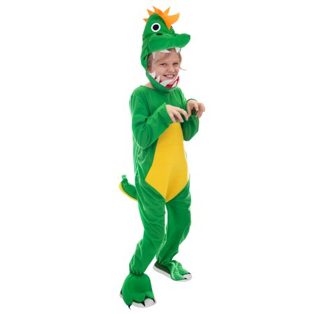 Boo! Inc. Jurassic Dinosaur Children's Halloween Costume | T-Rex Dino Suit for Kids - T Rex Dinosaur Halloween Costume