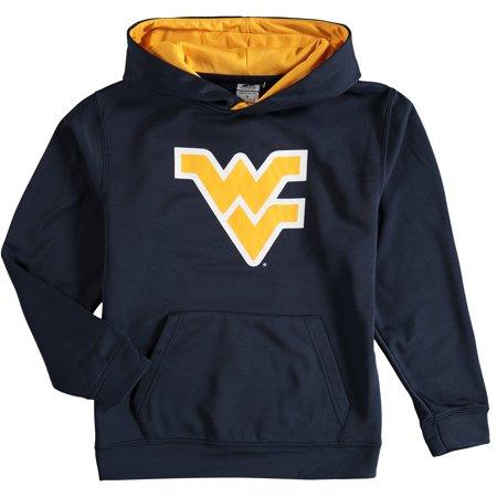 Logo Poly Fleece (West Virginia Mountaineers Colosseum Youth Poly Logo Fleece Hoodie -)