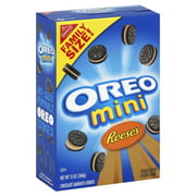 Nabisco Oreo Mini Reese's Peanut Butter Flavor Creme Sandwich Cookies, 13 Oz.