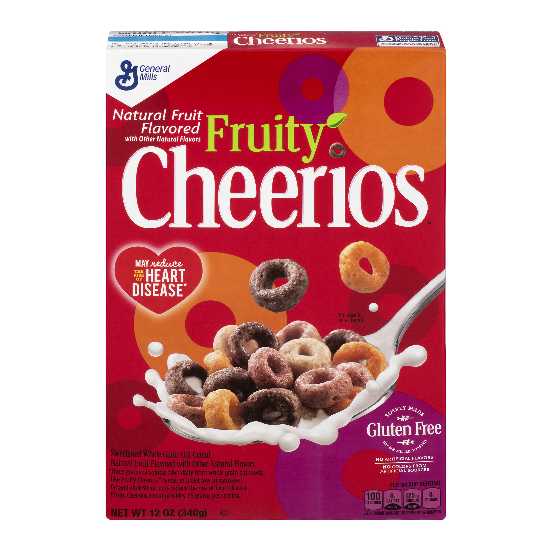Fruity Cheerios Cereal 12 oz Box