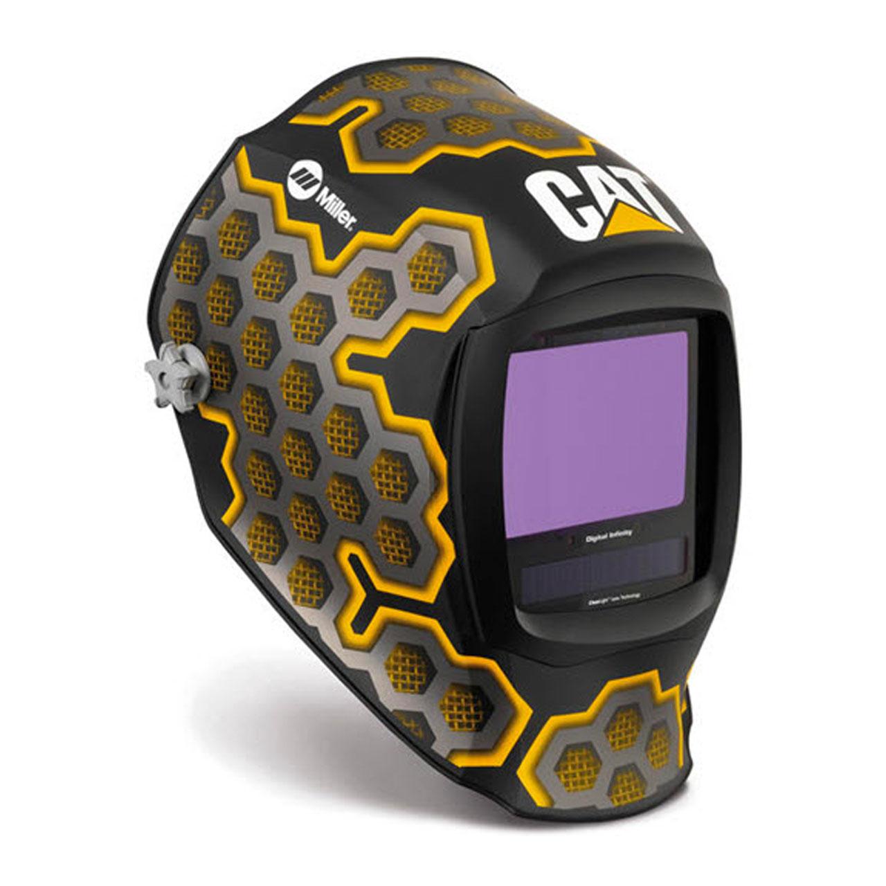 Miller 282007 Digital Infinity Welding Helmet with ClearLight Lens, CAT