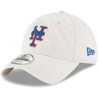 New York Mets New Era Core Classic Twill 9TWENTY Adjustable Hat - Tan - OSFA